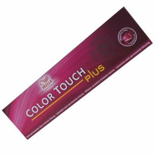 Wella Color Touch Plus Tönung 44/05 mittelbr. int. natur-mahagoni 60 ml.